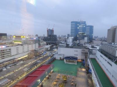 東武百貨店レストラン街13階より見られる風景