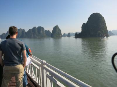中国~ベトナム周遊(5) 陸路でベトナムに入国してハロン湾クルーズを楽しむ(2017年12月)