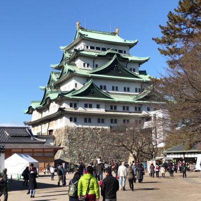 正月にエアアジア・ジャパンで行く伊勢神宮初詣と愛知近郊歴史探訪の旅(2日目、名古屋城、彦根城、リニア鉄道館)