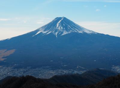 そうだ!富士山を見に行こう! 三ツ峠山日帰り登山