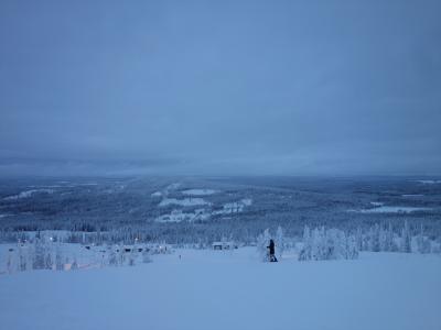 2017年 年末年始 フィンランド(4) スノーボード