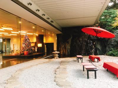 総合結婚式場並びに有名な百段階段 ホテル雅叙園東京(旧目黒雅叙園)、(めぐろ がじょえん)(東京、目黒区)を見学、そして、なだ万(銀座三越)で夕食 -12月 2017年