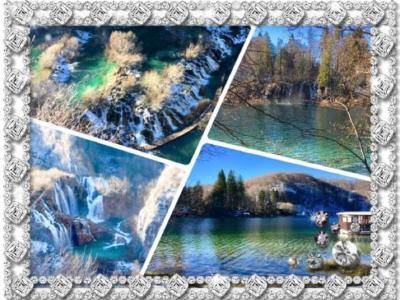 ・:*+2017クリスマス(6)+*:・inプリトヴィッツェ~冬のプリトヴィツェ湖群国立公園 ~