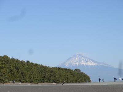三保の松原から富士山を見よう