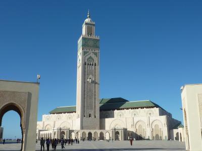 エキゾチックモロッコひとり旅9日間ツアー、ハッサン2世モスク