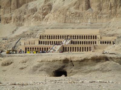Mortuary Temple of Hatshepsut at Deir el Bahri ( Luxor④)ハトシェプスト女王葬祭殿(2017年12月24日ルクソール④)