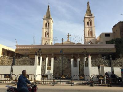 Coptic Church (Luxor⑥)コプト教会(2017年12月24日ルクソール⑥)