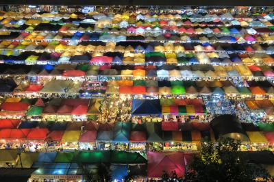 タイひとり旅 バンコクから夜行列車でランタ島へ vol.1バンコク編