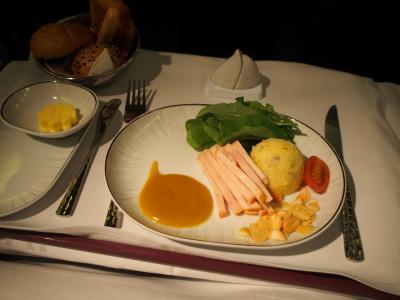 タイ航空 ビジネスクラス (バンコク→シドニー)