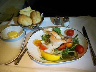 タイ航空 ビジネスクラス (シドニー→バンコク)