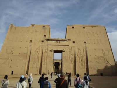 Temple of Horus at Edfu ⑧(エドフのホルス神殿 2017年12月25日)