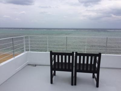 2018年の旅行始めは海と空がキレイな沖縄北部で。のはずだったけど…① ~カーサドゥマイビーチホテルオキナワ泊~