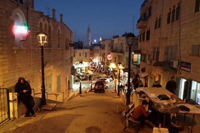ヨルダンからキングフセイン橋経由でパレスチナとイスラエルを訪問(冬の中東周遊旅行)