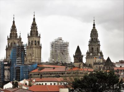 年末の北スペイン・ポルトガルの旅(自称晴れ女自信喪失の旅)【1】2日目:サンティアゴ・デ・コンポステーラ