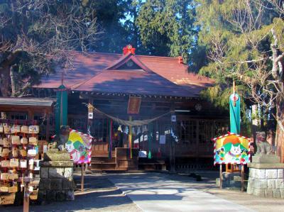 2018年 新春今年も芳賀町「天満宮」初詣と益子に出かけました。