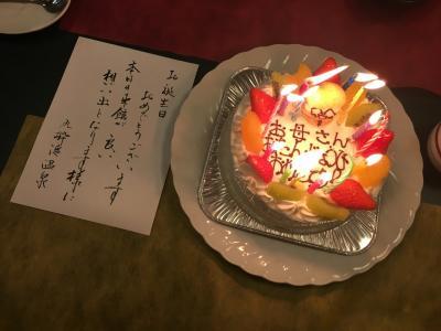 母の誕生日祝い