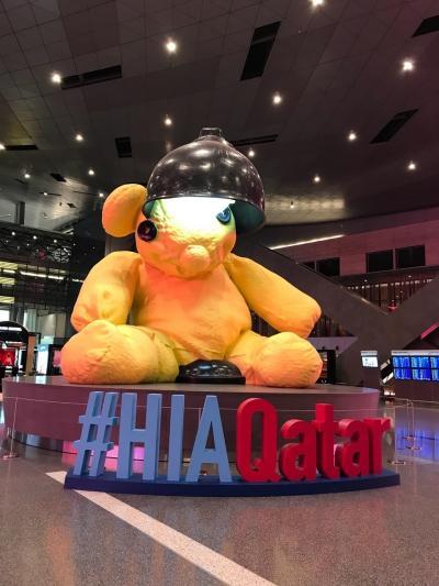 カタール航空で行くスウェーデン ドーハ・ハマド国際空港とカタール航空搭乗記