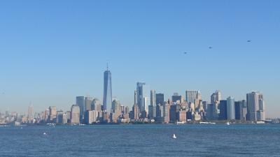 世界一周旅行(18-1)ニューヨーク:旅の最後を飾る空中散歩
