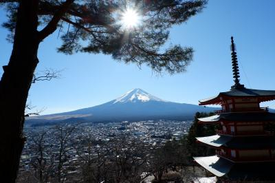 新年 ひたすら富士山を拝み運気を高める旅 その1