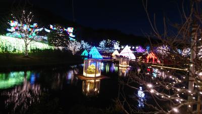 光の花の庭2017~足利フラワーパークイルミネーション♪