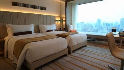 すっかり素敵ホテルに!プリンスギャラリー紀尾井町01_部屋&ティータイム