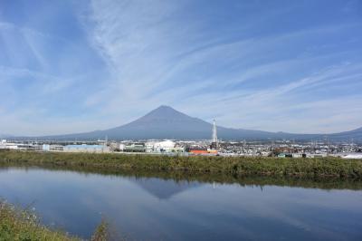 自転車でGO! 2017.11.02 =富士山を見ながら走って来ました=