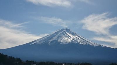 今日は、富士山が綺麗に見えました