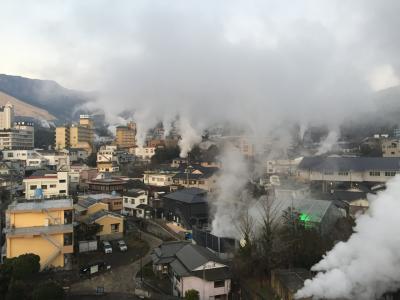 九州周遊旅行Vo.1 福岡、大分、宮崎、熊本(別府温泉、湯布院、高千穂峡、阿蘇を訪ねて)