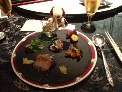2017年の忘年会は梅田スカイビルにあるチャイニーズレストラン『燦宮』で&ちょこっとクリスマスマーケット