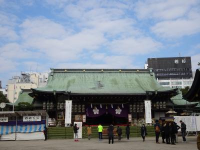 大阪天満宮と堀川戎神社