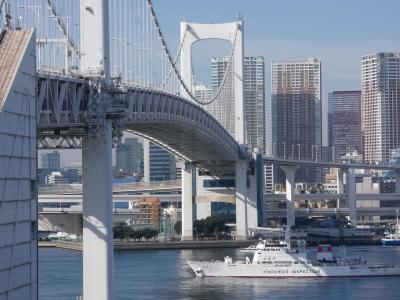 東京のウオーターフロント東京港を一周。