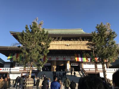 2018年・恒例の初詣は成田山新勝寺!そして、飛行機大好きにはたまらない「さくらの山公園」に行って来ました♪♪
