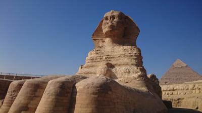 ギザのピラミッド、スフィンクスに会いたくて。