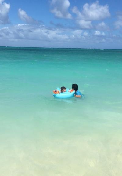 タロさん(5歳)の「ハワイって楽しいね🎶」8