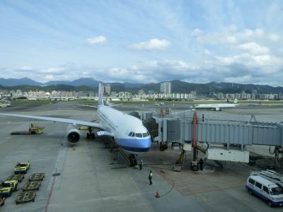 台北に1泊2日の弾丸トラベル! その1 土曜の羽田の早朝便で台北松山空港へ。