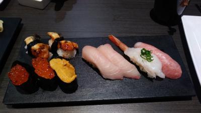 """ベガスの新しいもん2018年1月編その2""""Sapporo Revolving Sushi""""回転寿司が~ついにベガスに来た~!開店!"""