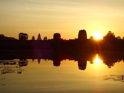 ベトナム、カンボジア旅行Ⅲ アンコールワット
