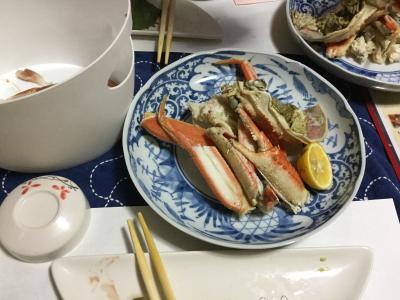 米子で松葉ガニづくしを予約、美味しかった