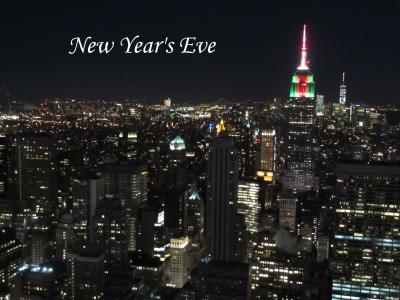 New Year's Eve.  - one -