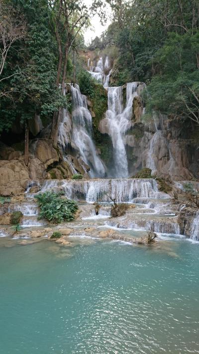 ルアンパバーン クアンシーの滝でドローンしてみた