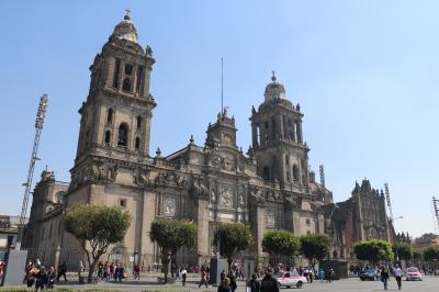 メキシコシティ&ティオティワカン旅行(メキシコシティ、サンアンヘル散策)