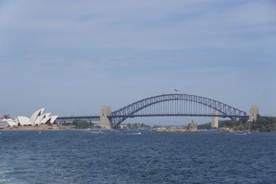■磁器婚式記念 オーストラリア家族旅■ シドニーDay3「ビーチでまったりシドニー湾堪能コース」