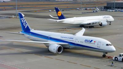 ANAの旅作利用で行く 東京1泊2日の旅【国際線旅客ターミナルビル展望デッキで飛行機ウォッチング編】