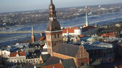 初めての国、初めての街、ラトビア・リガ観光名所~美しい街を見学♪