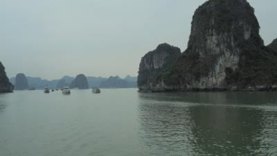 2017年ベトナム一人旅②ハロン湾