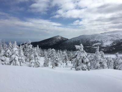 冬のご褒美で 樹氷