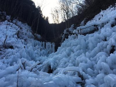 秩父エリアで日帰りハイキングと氷柱