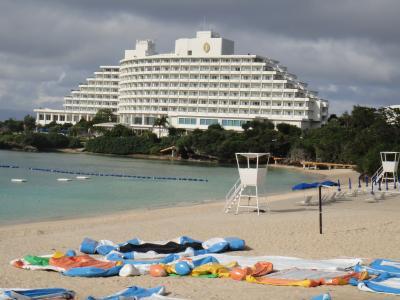 12月の沖縄でウエットスーツでシュノーケル魚たちと遭遇ANA万座ビーチリゾート