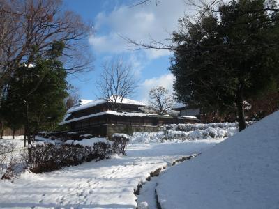 雪の本郷ふじやま公園
