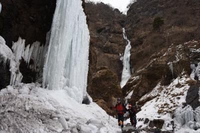 氷の宮殿 雲竜渓谷に行ってきました